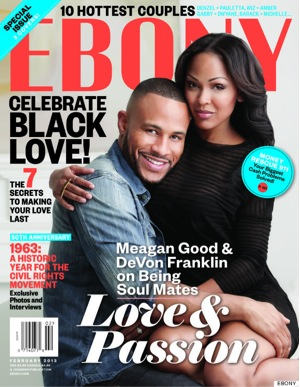 Ebony, Black love, Meagan Good
