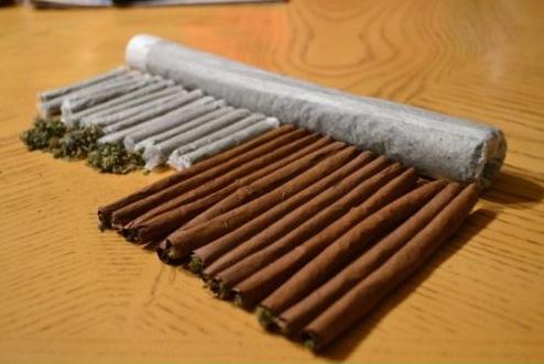 Différence entre un joint et un blunt