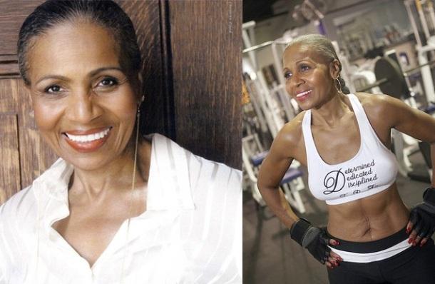 Ernestine Sheperd grand mère bodybuildeuse, plus vieille femme au monde à faire du bodybuilding