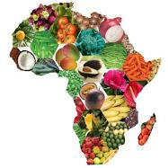 Dessin afrique fruits et légumes