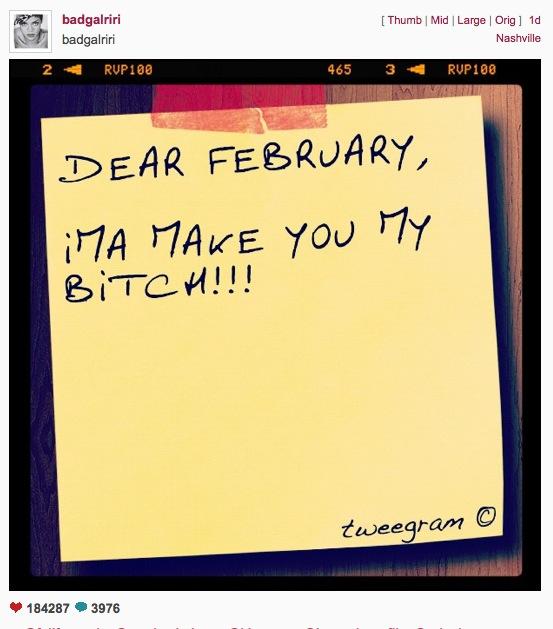 Rihanna reconciliee avec Chris Brown, soutenue par sa mère, et la belle fetera son anniversaire le 20 février prochain