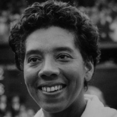 Althe Gibson, star afro-americaine du tennis et du golf