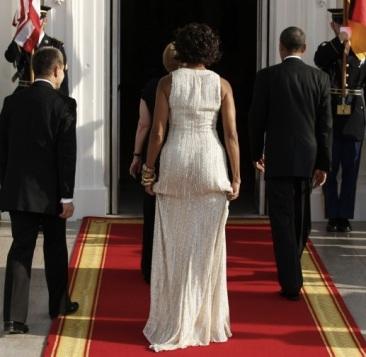 Les fesses de Michelle Obama critiquées