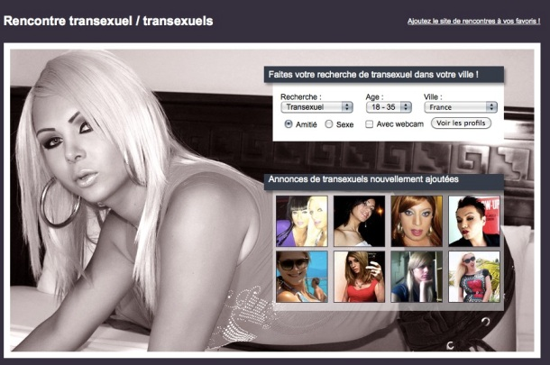 10 SITES DE RENCONTRE ASSEZ SURPRENANTS : transexuel-rencontre.com