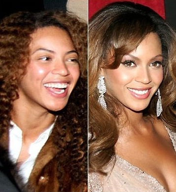 NOS CELEBRITES SANS MAQUILLAGE : Beyonce
