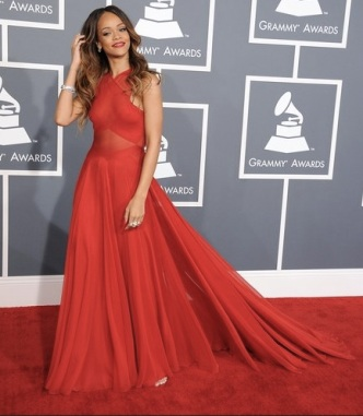 Grammy Awards 2013 : Rihanna