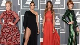 Grammy Awards 2013 : Adele, Rihanna, Solange, Jennifer Lopez