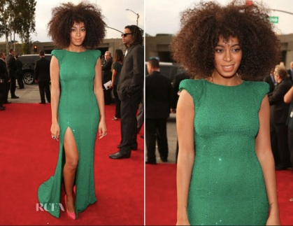 Grammy Awards 2013 : solange