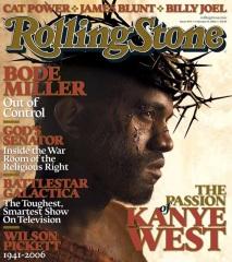 Kanye West se prend pour Jésus en couverture du magazine 'Rolling Stone' (2006  2013)