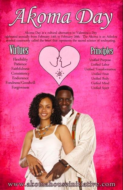 Akoma day, ou Saint Akoma pour remplacer la Saint Valentin