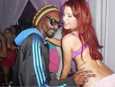 """PATRICE EVRA ET LES JUMELLES PLAYBOY """"CARLA ET MELISSA HOWE"""" - avec Snoop"""