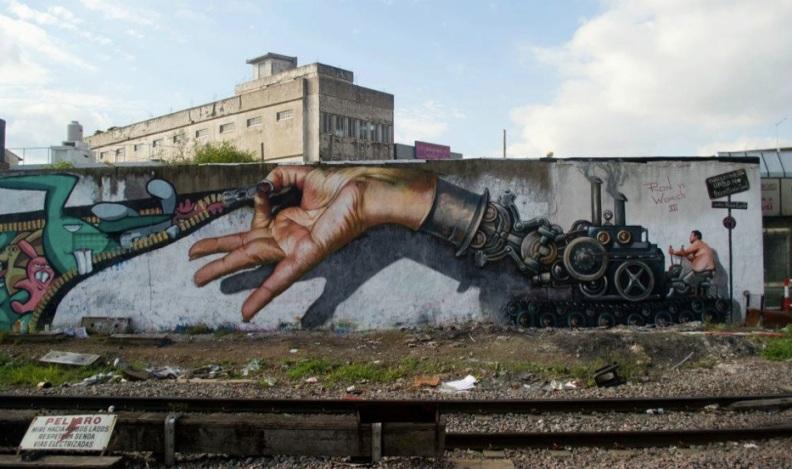 Le meilleur de l'art de rue - street art - art urbain