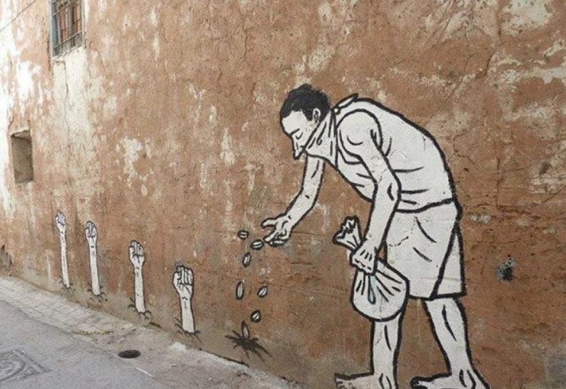 Le meilleur de l'art de rue - street art - art urbain (semences)