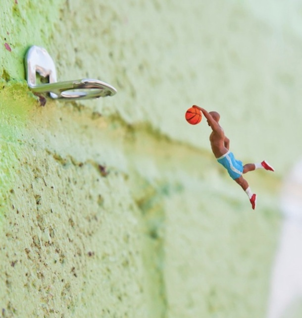 Le meilleur de l'art de rue - street art - art urbain (basket)