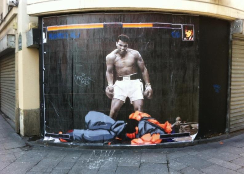 Le meilleur de l'art de rue - street art - art urbain (Muhammad Ali)