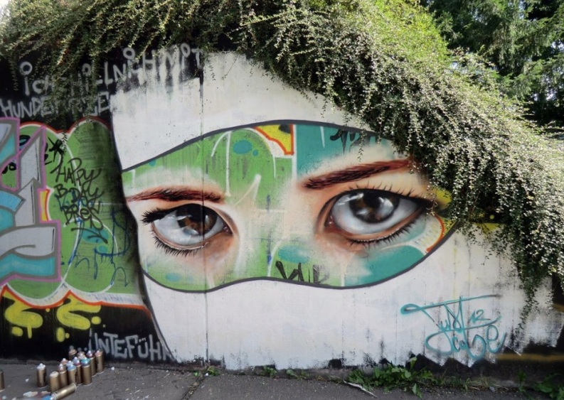 Le meilleur de l'art de rue - street art - art urbain (afro buisson)