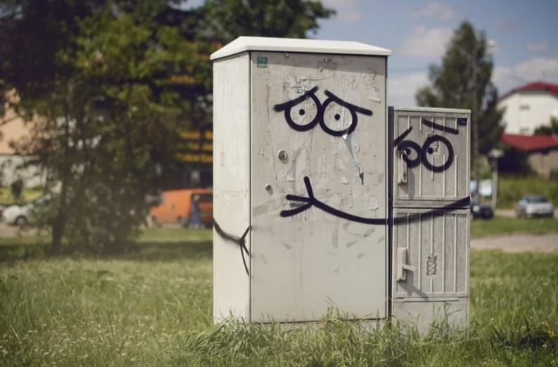 Le meilleur de l'art de rue - street art - art urbain (edf)
