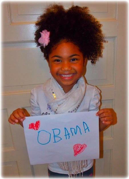 ALANIS SHEPERD : PETITE REINE DE LA MODE AFRO (Obama)
