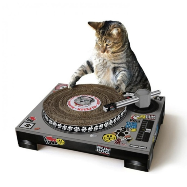 Cat Scratch DJ Deck Toy - Chat DJ