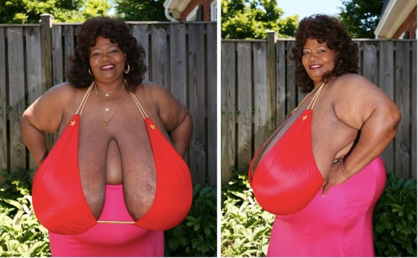 Annie Hawkins-Turner possède la plus grosse poitrine au monde connue.