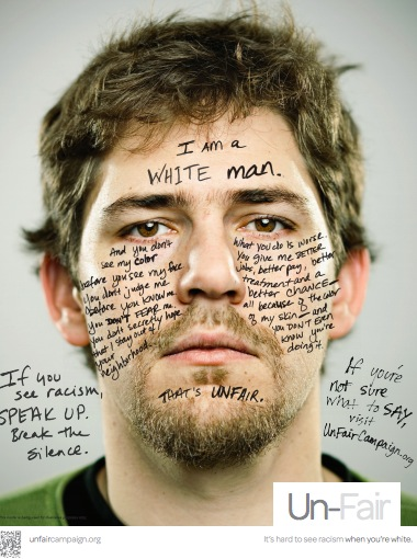 Campagne contre le racisme - par des blancs
