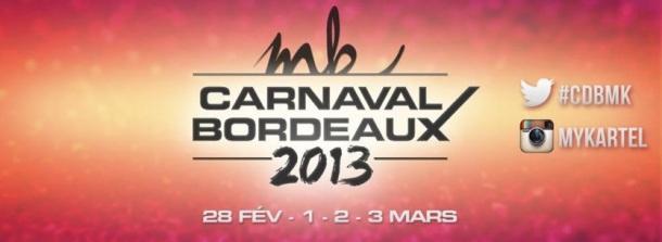 Affiche du carnaval de Bordeaux par MyKartel.