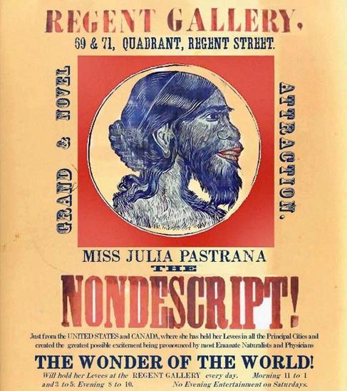 La femme la plus moche du monde . Julia Pastrana