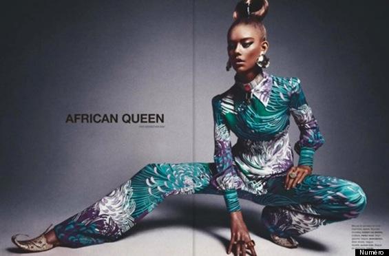 LE MAGAZINE QUI A UTILISE UNE ADO BLANCHE EN TANT QUE REINE AFRICAINE S'EXCUSE