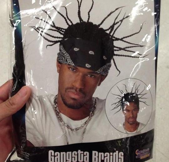 Gangsta braids - Faux cheveux hommes noirs d'écran 2013-01-12 à 06.46.33