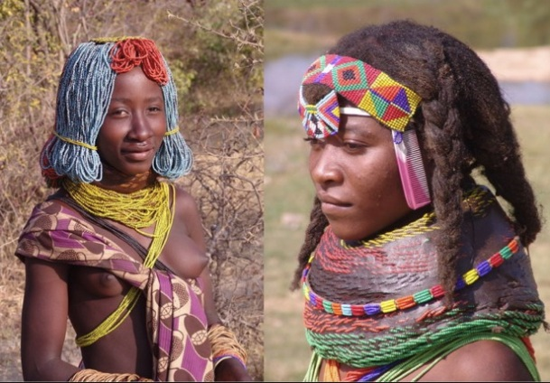 Type de coiffures angolaises.