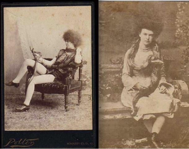 Femmes blanches et afro rétro - beauté circassienne (circassian beauties)