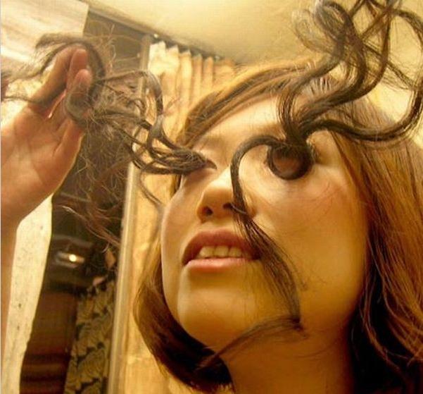 La femme le plus long cheveux du monde