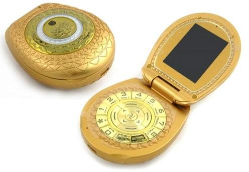 LE TELEPHONE PORTABLE GOLDEN BUDDHA