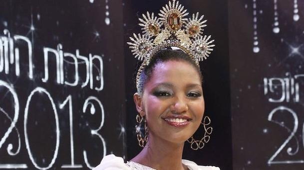 UNE PREMIERE MISS ISRAEL NOIRE MAIS BEAUCOUP D'HYPOCRISIE DANS LE PAYS - Yityish Aynaw