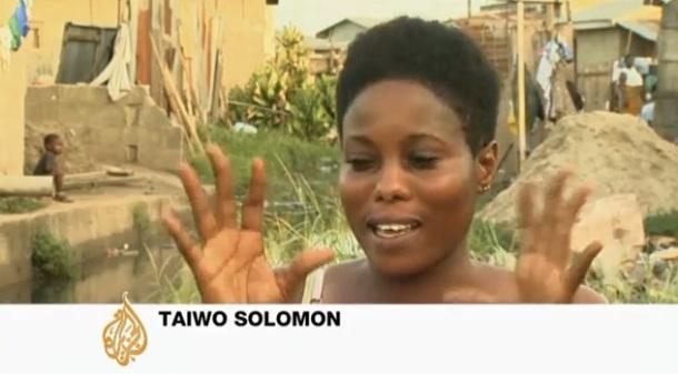 Taiwo Solomon se blanchi la peau depuis 15 ans. Elle ne veut pas être blanche, elle veut juste être un peu plus claire, plus belle.
