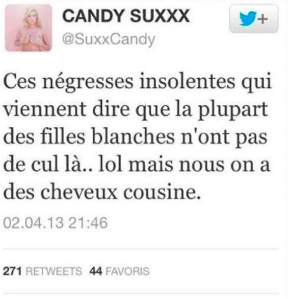 FILLE BLANCHE CONTRE FILLE NOIRE : LE MATCH - Candy Suxxx