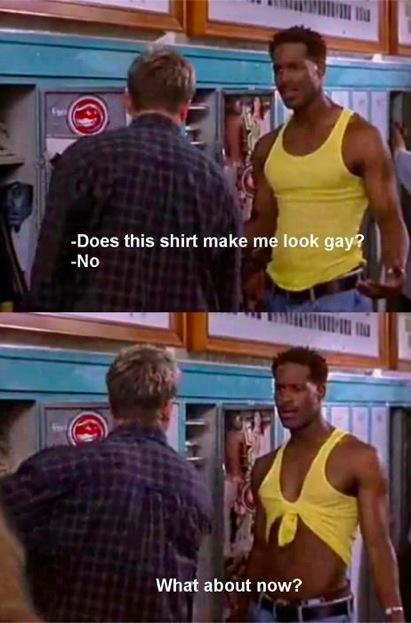 Est-ce que j'ai l'air homo ?