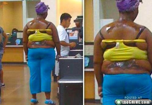 La tenue afro du jour