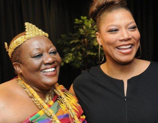 King Peggy et Queen Latifah (Elle est devenue Reine (Roi) africaine du jour au lendemain au Ghana)