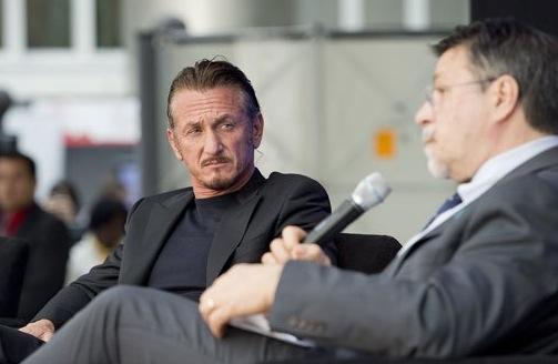 Sean Penn et Hasan Tuluy.