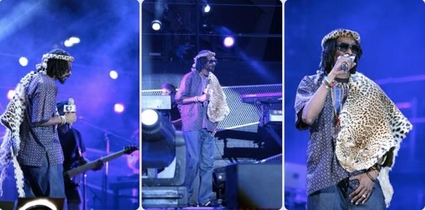 LA FAMILLE ROYALE DE LA NATION ZOULOU FACHEE CONTRE SNOOP LION - MTV Africa all stars