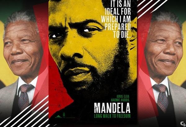 IDRIS ELBA INCARNERA MANDELA DANS SON FILM AUTOBIOGRAPHIQUE 'MANDELA : LONG WALK TO FREEDOM'