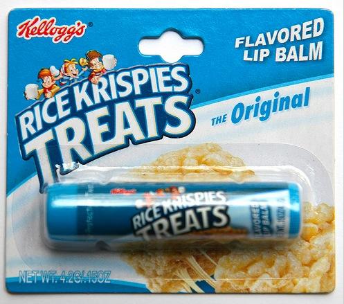 DU GLOSS AU GOUT DE CEREALES KELLOGG'S ET NESTLé (lip balm) - Rice Krispies