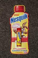 DU GLOSS AU GOUT DE CEREALES KELLOGG'S ET NESTLé (lip balm) Nesquick
