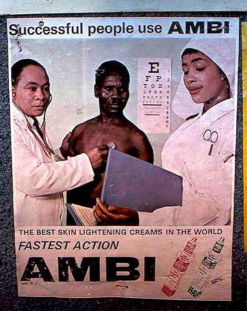 AMBI - publicité créme eclaircissante