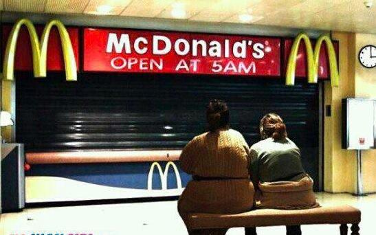 Obésité + Mac Donald's (humour)