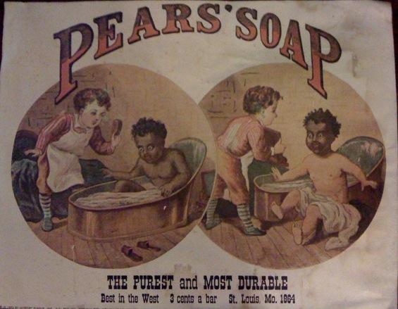 LES PUBLICITES LES PLUS RACISTES ET SEXISTES DE L'HISTOIRE - Pear's soap