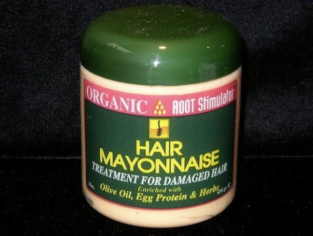 LES SOINS A LA MAYONNAISE QUI MARCHENT POUR LES CHEVEUX SECS - Organic root hair mayonnaise