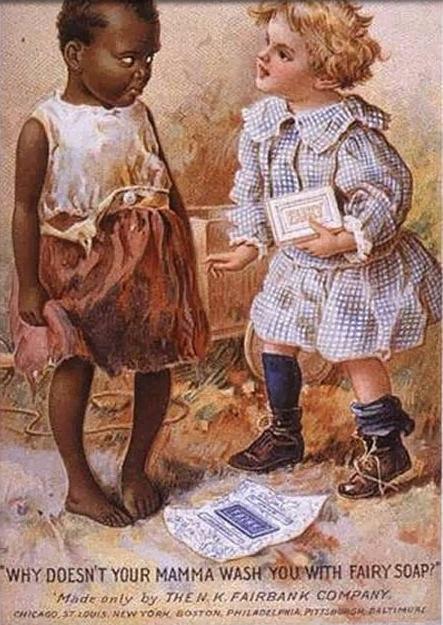 LES PUBLICITES LES PLUS RACISTES ET SEXISTES DE L'HISTOIRE - Fairy soap