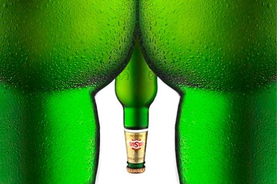 LES PUBLICITES LES PLUS RACISTES ET SEXISTES DE L'HISTOIRE - Ursus beer ( biére)
